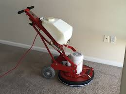 Carpet cleaning method - bonnet cleaning / SETT