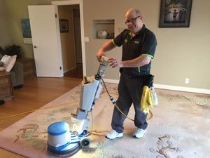 Oxy-Dry® carpet cleaning method