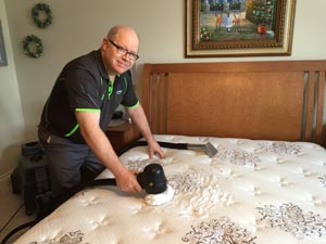 mattress cleaning with Oxy-Dry®